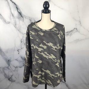 Sonoma camo long sleeve sweatshirt